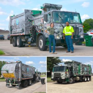 Art Recycle Truck Cement 6.13.17